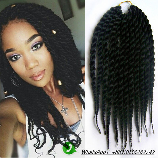 Crochet Hair Lengths : Short-Length-Havana-Hair-80g-piece-Synthetic-Twist-Crochet-Braids-Hair ...
