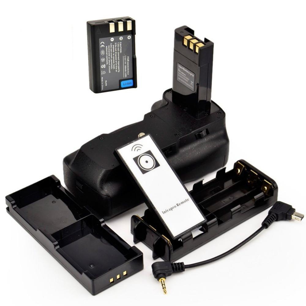 D5000 Battery Grip + IR Remote Control + EN-EL9 Battery for Nikon D5000 D3000 D40 D40X D60 Cameras.(China (Mainland))