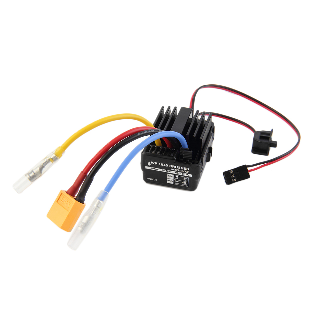 WP 60A Waterproof Brushed ESC Controller for Hobbywing Quicrun Car Motor Buggy Truck 65g Free Shipping(China (Mainland))