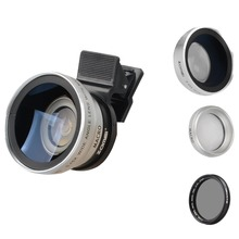 Buy Zomei 3 1 Cell Phone Camera Lens Kit 140 Degree Wide Angle Lens + 10X Macro Lens + CPL Polarizing Filter iPhone Samsung for $21.99 in AliExpress store
