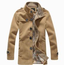 Winter Manteau Homme Men High Quality Wool Blends Trench Coat Male Plus Size Thick Warm Jackets Coat, Size 5xl=us 3xl,g5181(China (Mainland))