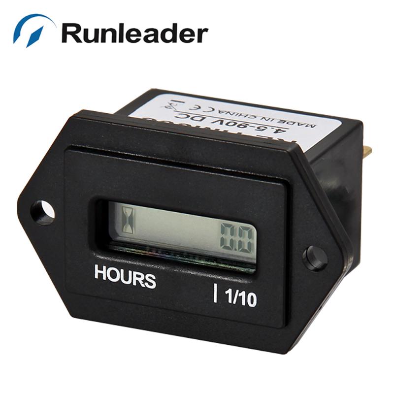 Electric Hour Meters : Ac v hour running meter for forklift golf kart