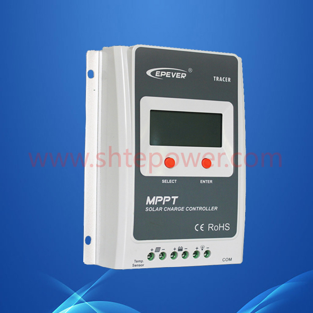 Epsolar 20A MPPT Solar Charge Controller 12V 24V LCD Display EPEVER TRACER Solar Panel Battery Charge Regulator Tracer2210A(China (Mainland))