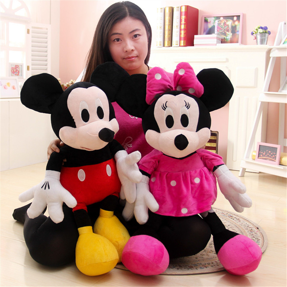 30cm Mickey Mouse And Minnie Mouse Toys Soft Toy Stuffed Animals Plush Toy dolls(China (Mainland))
