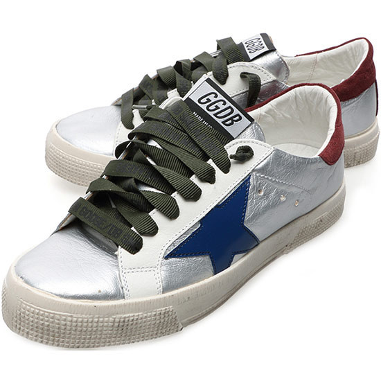 2015 Italy Brand Golden Goose Superstar GGDB Men Women Check Horse Sneakers Genuine Leather Silver Shoes Star Scarpe