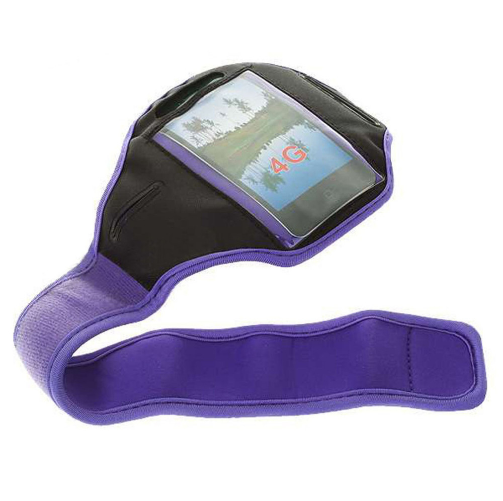 """Purple Running Sport Armband GYM Skin Case Cover for Mobile Cell Phone Blackberry Z3 5""""(China (Mainland))"""