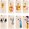 Original Capinha TPU Phone Cases For iPhone 5 5C 6s Plus Ultrathin Slim Transparent Protective Back Cover With Woman Love Gift