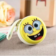 Coin purse Headphone Case Minions Pouch Carry Bag kawaii purse hard box Key kids Wallet Cute Cartoon Storage Box bags children