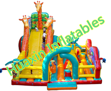 Factory direct inflatable slides,Inflatable castle, 2015 new Dragon slide  HXS-129(China (Mainland))