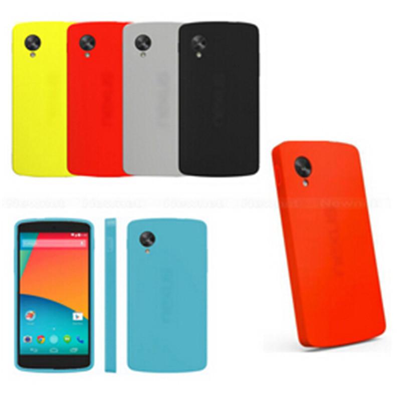 Case For LG Google Nexus 5 D820 D821 E980 Premium Official TPU Plastic Neo Hybrid Back Cover Skin For LG Google Nexus 5 Cases