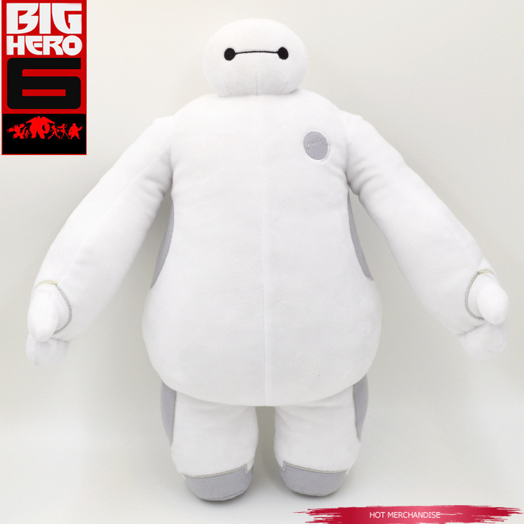 New Big Baymax Hero Plush Doll Toy 6 wholesale retail bag Stuffed Plush Gift Valentine Day Gift 18cm 26cm 30cm 38cm(China (Mainland))