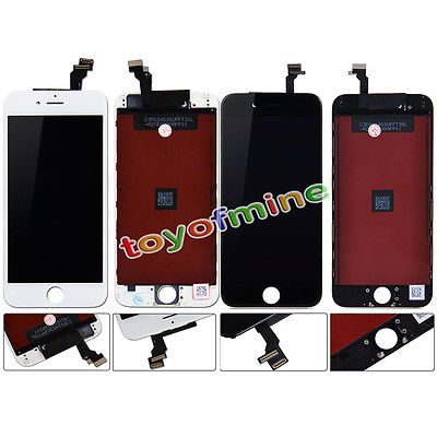 100% New Original Black 1PCS LCD Lens Touch Screen Display Digitizer Assembly Replacement for iPhone 6(China (Mainland))