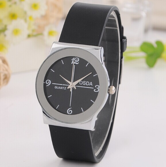 Elegant Simple Style Rubber Band Quartz Fashion Women Dress Watches Price Casual Wristwatch Good Gifts Hours - Dream More Store store