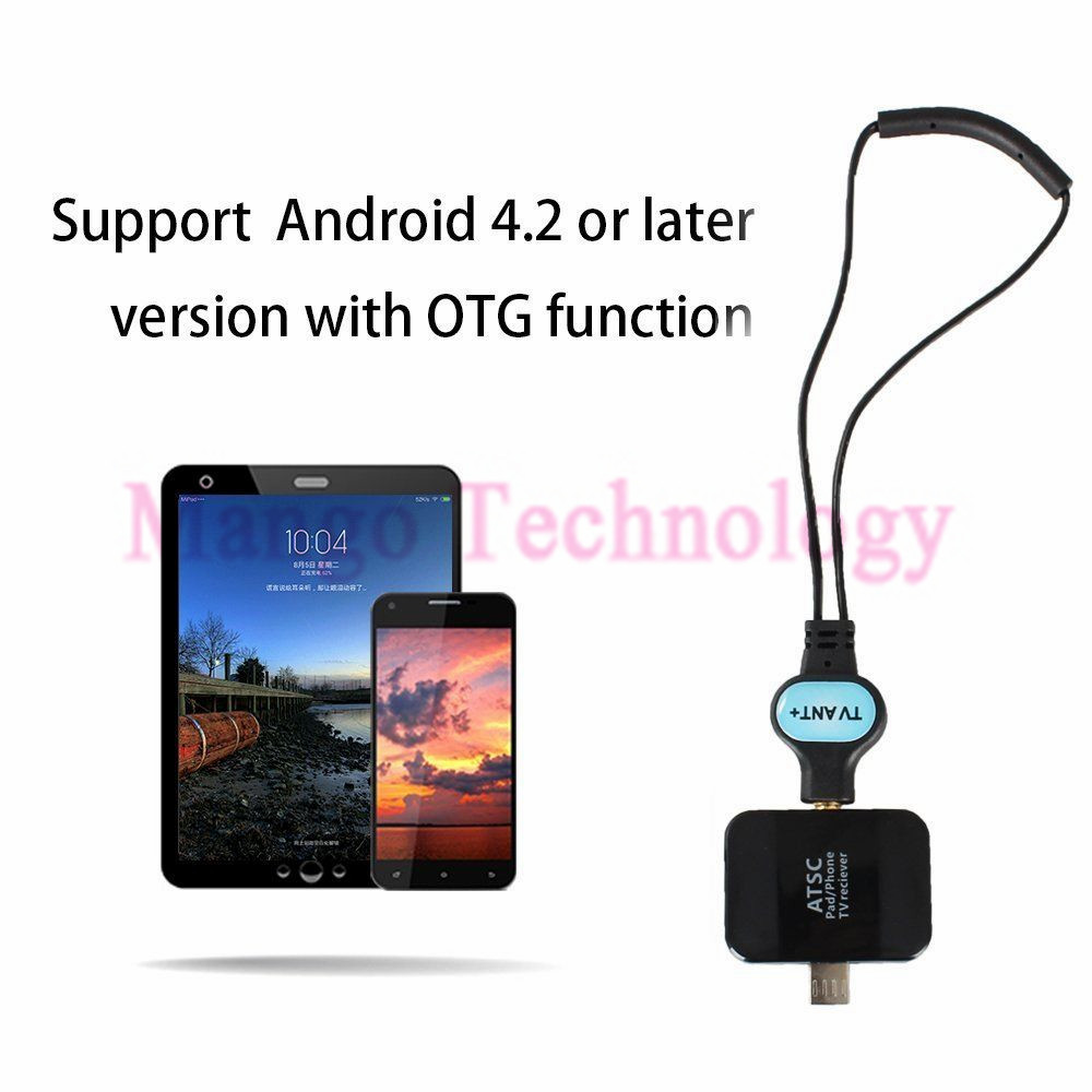 Satellite Receiver ATSC USB HD Digital TV Receiver Tuner TV Stick For Android Phone/Pad, Work in USA/Canada/Mexico/Korea 2016(China (Mainland))
