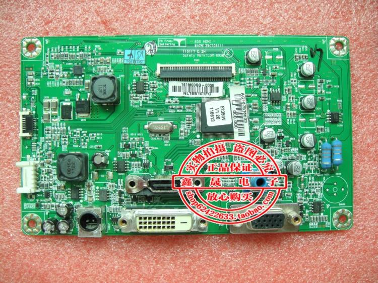 Free Shipping> Original 100% Tested Working E2350V E50.HDMI LED driver plate EAX61394708(1) motherboard(China (Mainland))