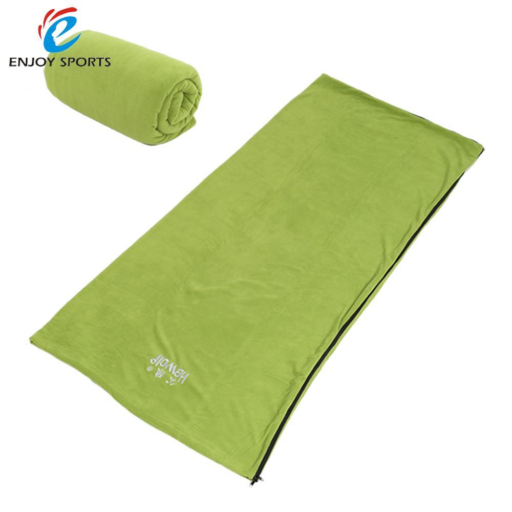 Ultralight Outdoor Sleeping Bag Winter Warm Fleece Sleeping Bag Portable Sleeping Bags for Travel Hiking Camping Hewolf(China (Mainland))