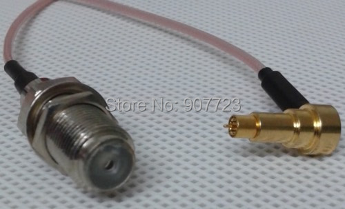 10pc MS-156 MS156 Pyhteyl plug Male To F female jack test probe RG178 cable leads 20CM