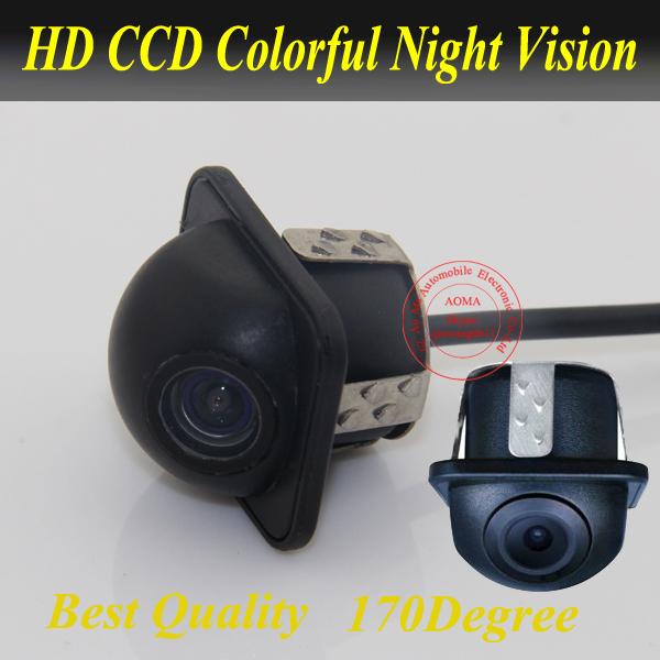 CCD universal Car rear view camera Car parking backup camera HD color night vision such solaris corolla k2 car reversing camera(China (Mainland))