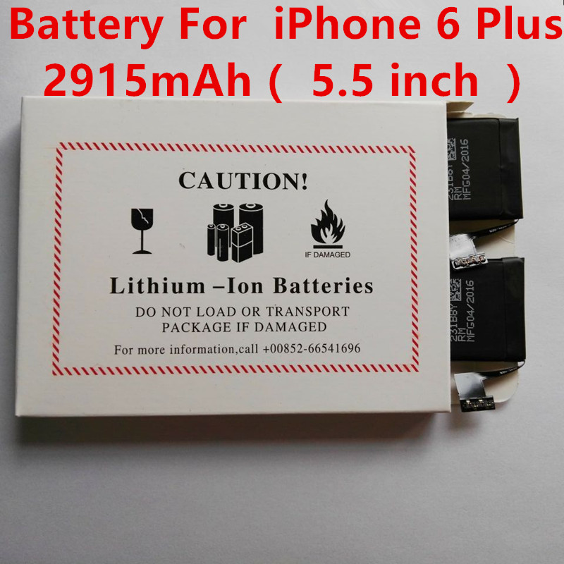10Pcs/ Lot Brand Original Replacement Li-ion Battery For iPhone 6 Plus 5.5 inch Good Work Free Shipping(China (Mainland))