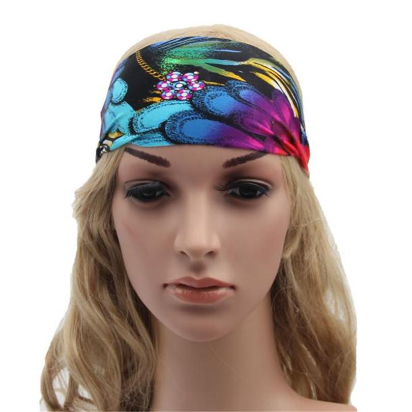 Durable Yoga Headband Boho Headband Running Headband Womens Hair Accessories Headwrap Nonslip Headband(China (Mainland))