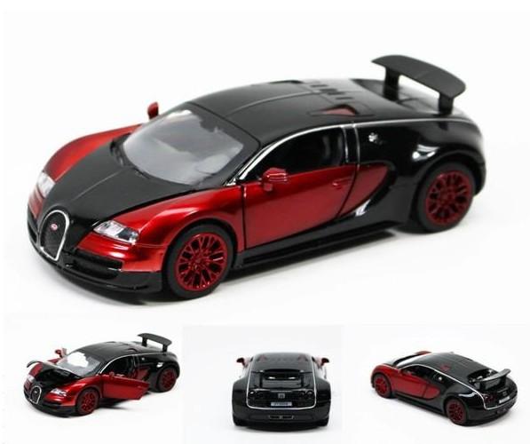 New 1:32 Bugatti Veyron Model Car Toys Pattern Diecast Sound & light C015(China (Mainland))