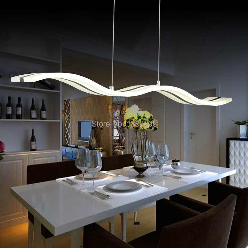 LED Pendant lights Modern Design Kitchen acrylic suspension hanging ceiling lamp dining table Home lighting LED avize lustre(China (Mainland))