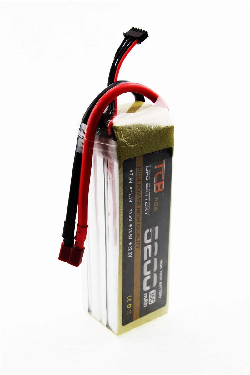 Фотография Upgrades TCB RC airplane Li-Po Battery 4s 14.8v 5200mAh 25c the best cell the lowest internal resistance and higher endurance
