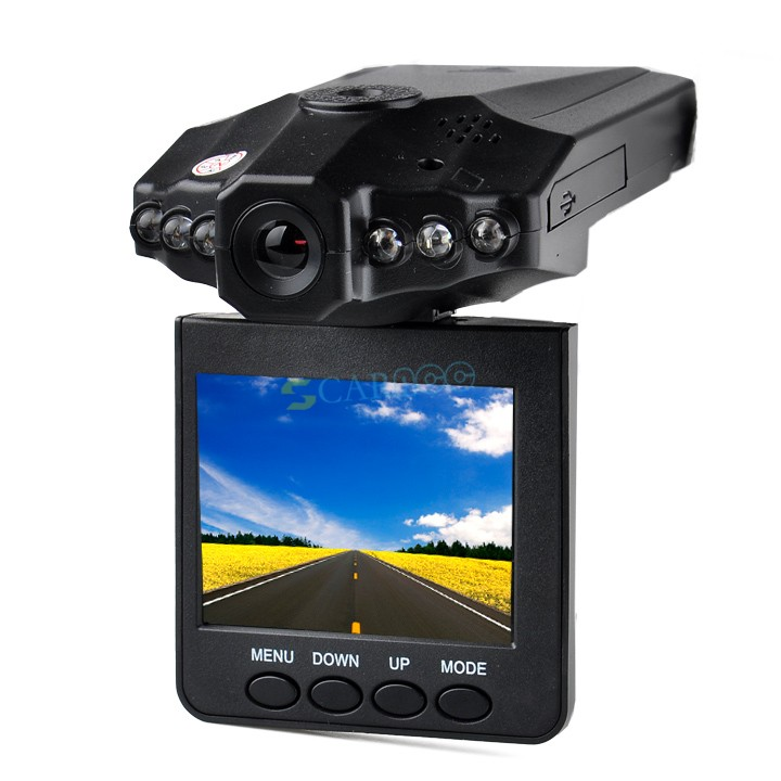 "Top Quality 270 Degree Road Safety Guard Car Camera 2.5"" LCD TFT Screen 6 LED USB 2.0 Vehicle Car DVR Recorder @y(China (Mainland))"