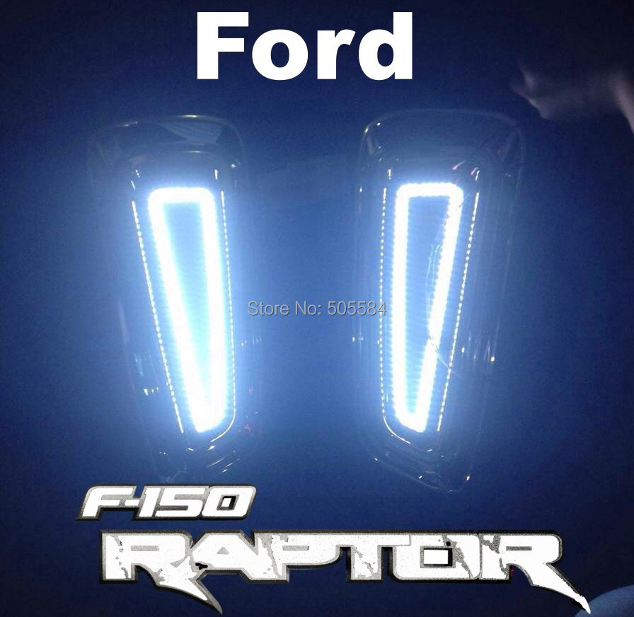 F150 Raptor 09-14 Pick up Truck Cree Led daytime running light / Fog Lamp / Auxiliary Headlight / External lighting kit(China (Mainland))