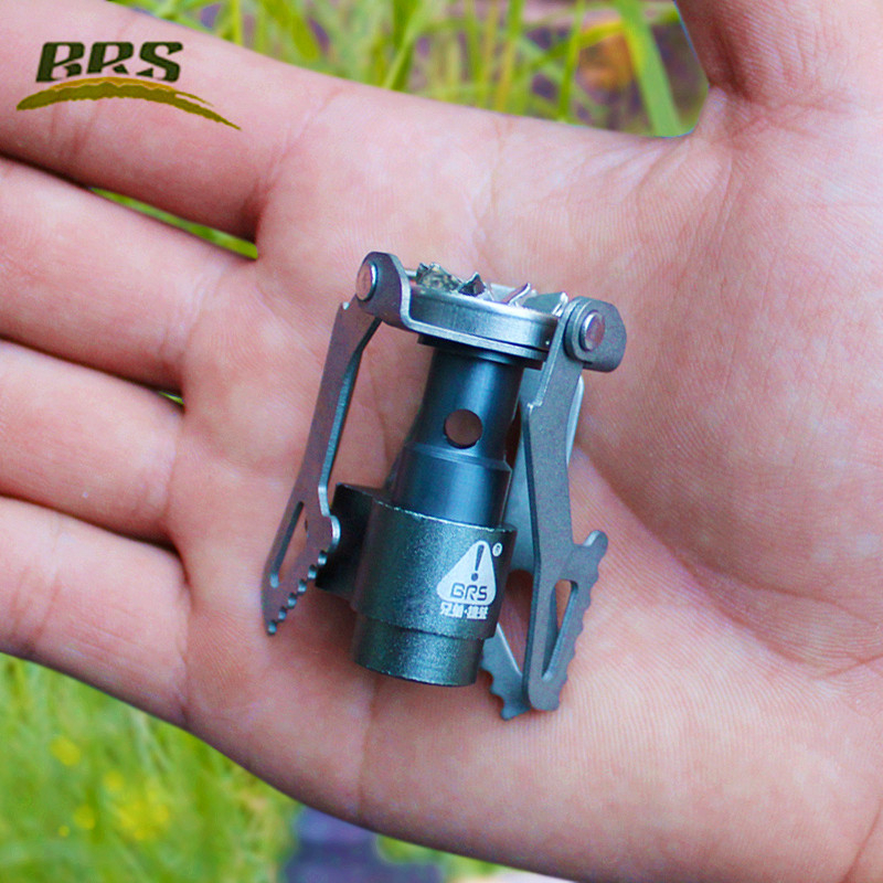 BRS-3000T Super Lightweight One-Piece Titanium Alloy Outdoor Burner Camping Gas Stove Factory Wholesale(China (Mainland))
