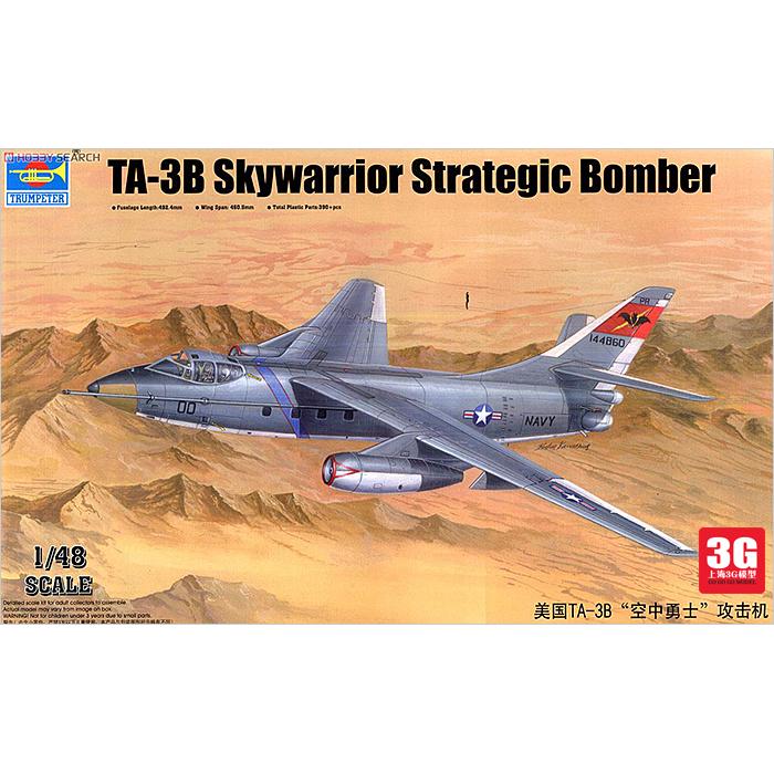 Фотография [Model] trumpeter  TA-3B 02870 1/48 US Air Warrior attack aircraft