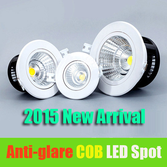 Buy New Dimmable Recessed Led Downlight Cob 3W 5W 7W 10W Dim