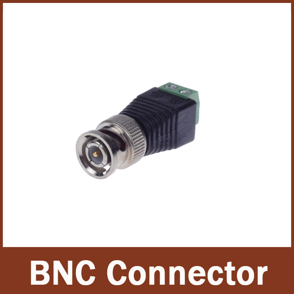 10pcs/lot CCTV accessories Coax CAT5 To Camera CCTV BNC Video Balun Connector(China (Mainland))