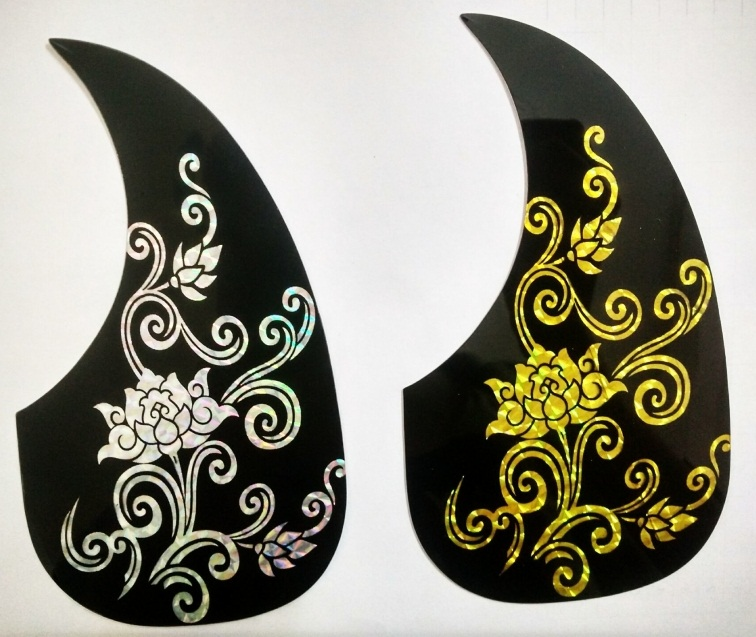 Guitar Assembly Accessories Guitar Pickguard classic design 2 pieces/lot(China (Mainland))