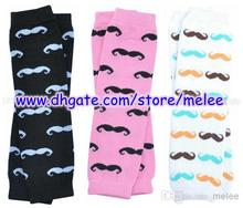 Hot Sale Baby Beard Leg Warmers Children Mustache Leg Warmers Infant LegWarmers Big Discount 60pair/lot,3M-10T Melee(China (Mainland))