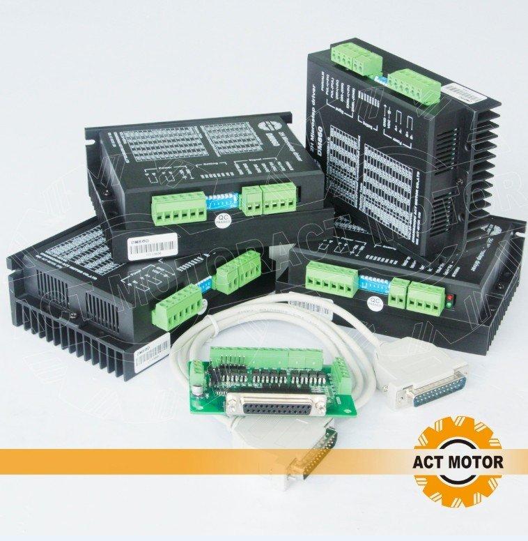 Buy act 4 axis nema 34 stepper motor for Nema 34 stepper motor driver