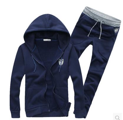 Style Men's Zipper cardigan Sport Suits Tracksuits Hoodies Fashion Coats Jackets Pants Hoody Sportswear sweatshirts - xue mao wang's store