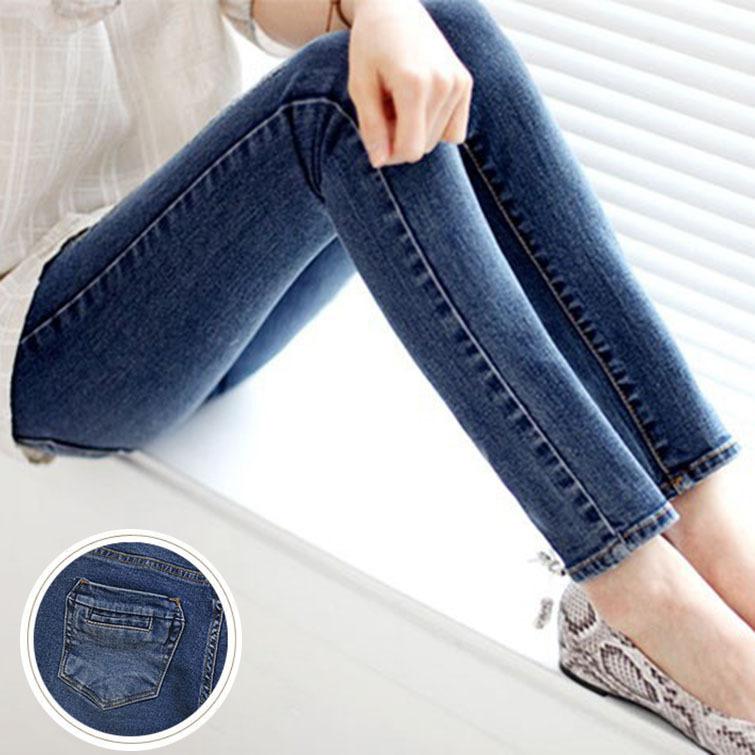 Skinny Jeans For Women High Waist Jeans Woman Sexy Pencil Women Jeans 2015 Womens Fall Fashion Denim Pants Calca Feminina Plus