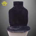 car seat covers set Gray faux fur cute covers for car interior accessories cushion styling winter