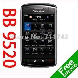 Unlocked original Blackberry 9520 storm Mobile refurbished cell phone Valid PIN+IMEI 3G WIFI