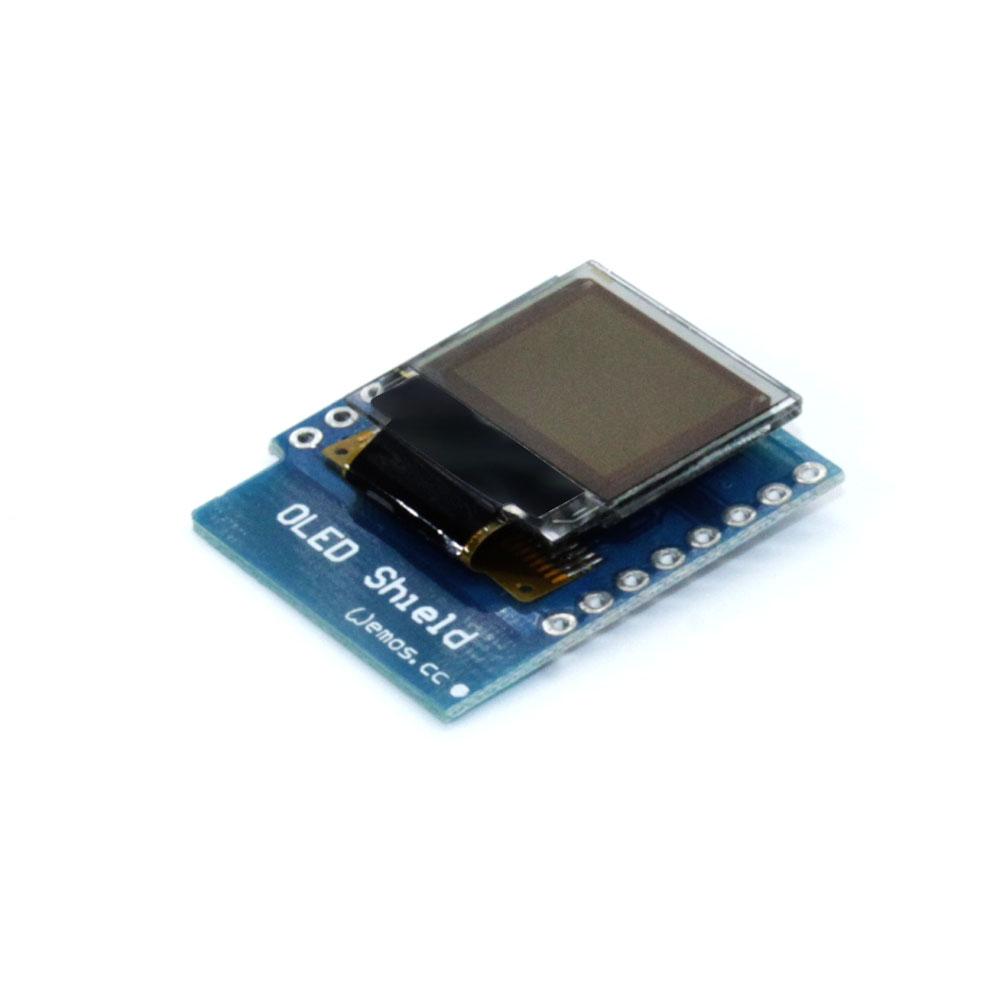 OLED Schild for WeMos D1 mini 0.66 zoll 64X48 IIC I2C