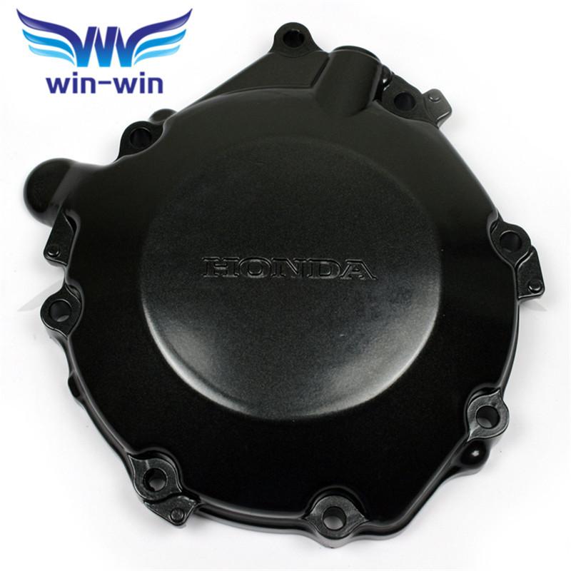 hot selling motorcycle parts black left engine stator cover aluminum crank case honda CBR1000 06-07