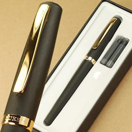 Free Shipping stationery Office/school supplies luxury executive pens Duke 209 black M nib fountain pen with pencil box<br><br>Aliexpress
