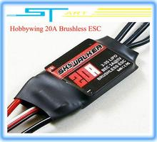 Hobbywing Skywalker Brushless Lipo 20A BEC Speed Controller for rc helicopter quadcopter drone free shipping boy gift