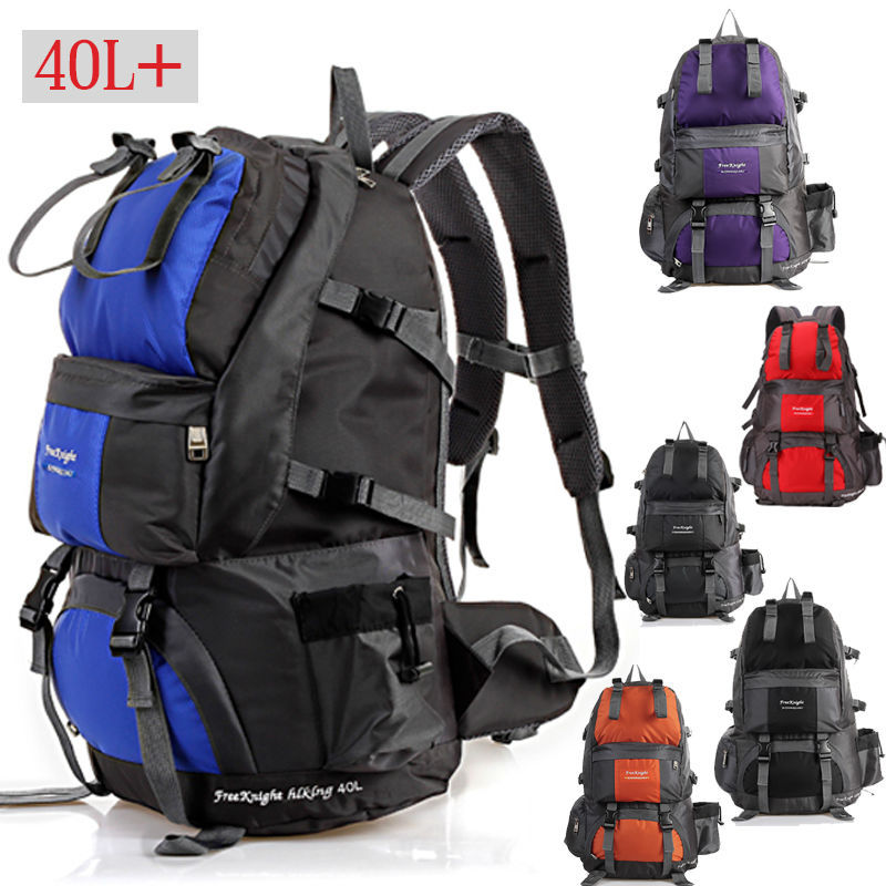 Professional Travel Bag 45L Sport Backpack Waterproof Outdoor Climbing Mountaineering Hiking Camping Backpack Bags Women&Men NEW