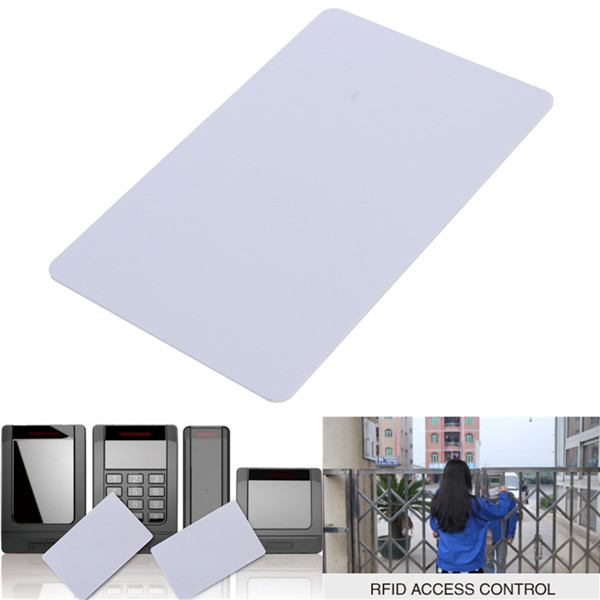 Readable 125KHz RFID Proximity ID Card Tag For Door Access control system White(China (Mainland))