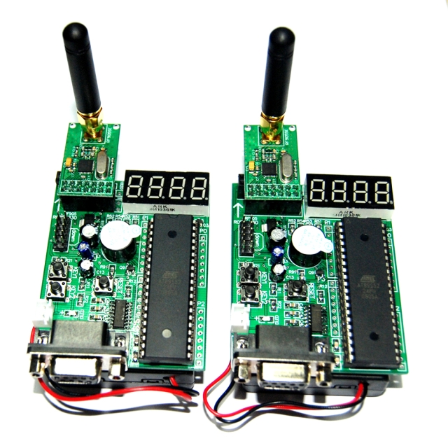 Wireless series NRF24L01 of software and hardware development board combined with recommended 1 set contains two quick start(China (Mainland))