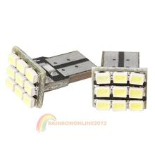 R1B1 White T10 9 SMD 194 168 501 W5W Bright LED Wedge New Hot(China (Mainland))