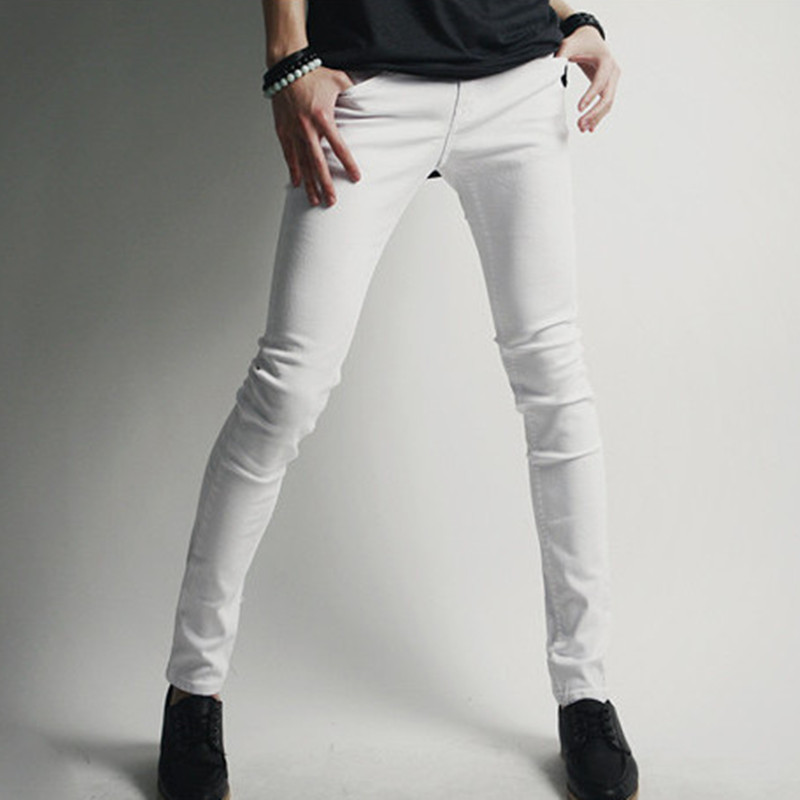 White super skinny jeans for guys – Global fashion jeans collection