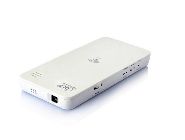 Portable mini hd wireless wifi dlp projector for iphone for Best portable projector for iphone